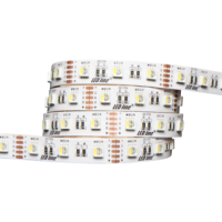 LED Strip 5m 300 LED RGB Warmweiss 10mm SMD 5060 IP20