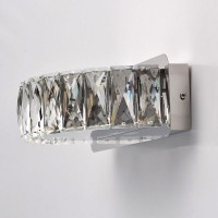 Crystal Wandleuchten chrome color/ metal crystal 12W LED 1080LM 4000K brand bulbs included