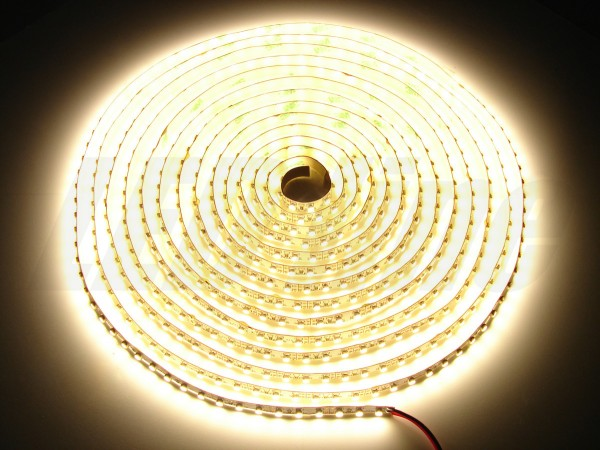 LED Strip 5m 600 LED warmweiss SMD3528 IP20